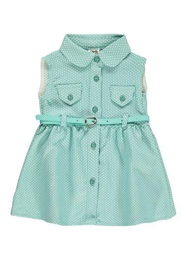 Civil Baby Civil Baby Kiz Bebek Elbise 6-18 Ay Mint Yeşili Civil Baby Kiz Bebek Elbise 6-18 Ay Mint Yeşili Renkli